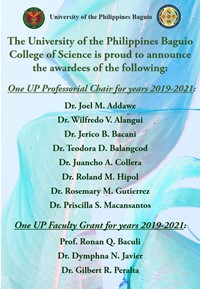 One UP Awardees