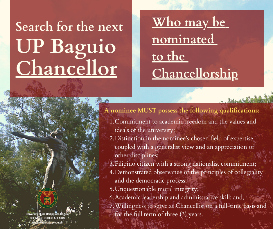 Next UPB Chancellor 2